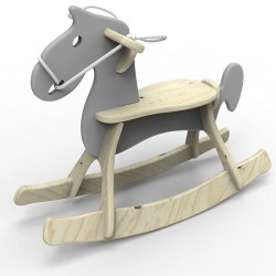 Koń na biegunach STEFANEK