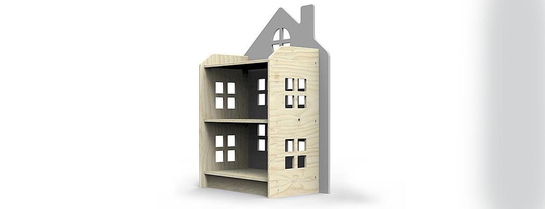 Domek - półka